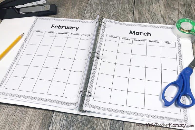 Keep a planner to keep your substitute teacher jobs organized.