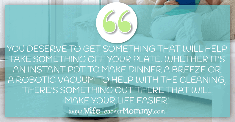 Get something to make your life easier as a pregnant teacher. You work so hard, and you need to take care of yourself!