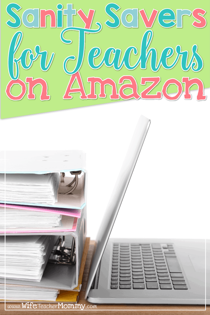 As a busy teacher, Amazon can make your life a WHOLE lot easier in so many ways! It doesn't end with 2 day Amazon Prime shipping. Here's a full list of sanity savers for teachers on Amazon.