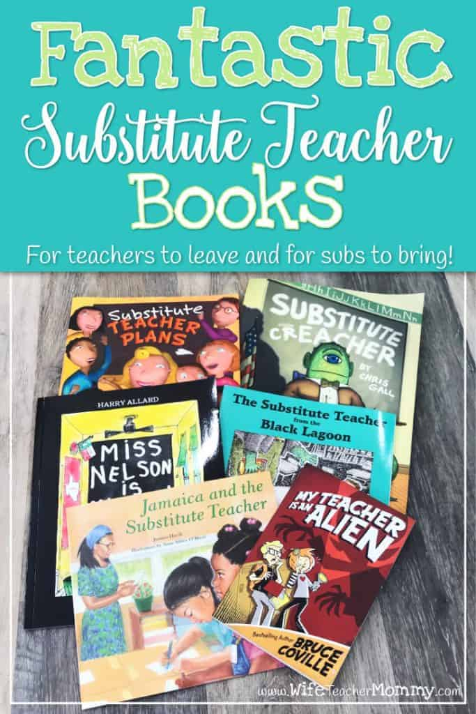 Substitute teacher books