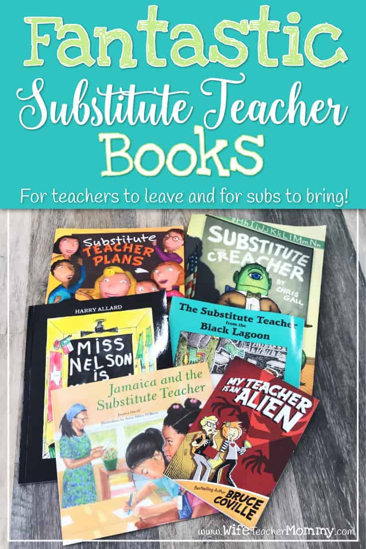 These substitute teacher books are perfect for teachers to leave for subs and substitutes to bring to classes they teach! This is a great selection for elementary classrooms.
