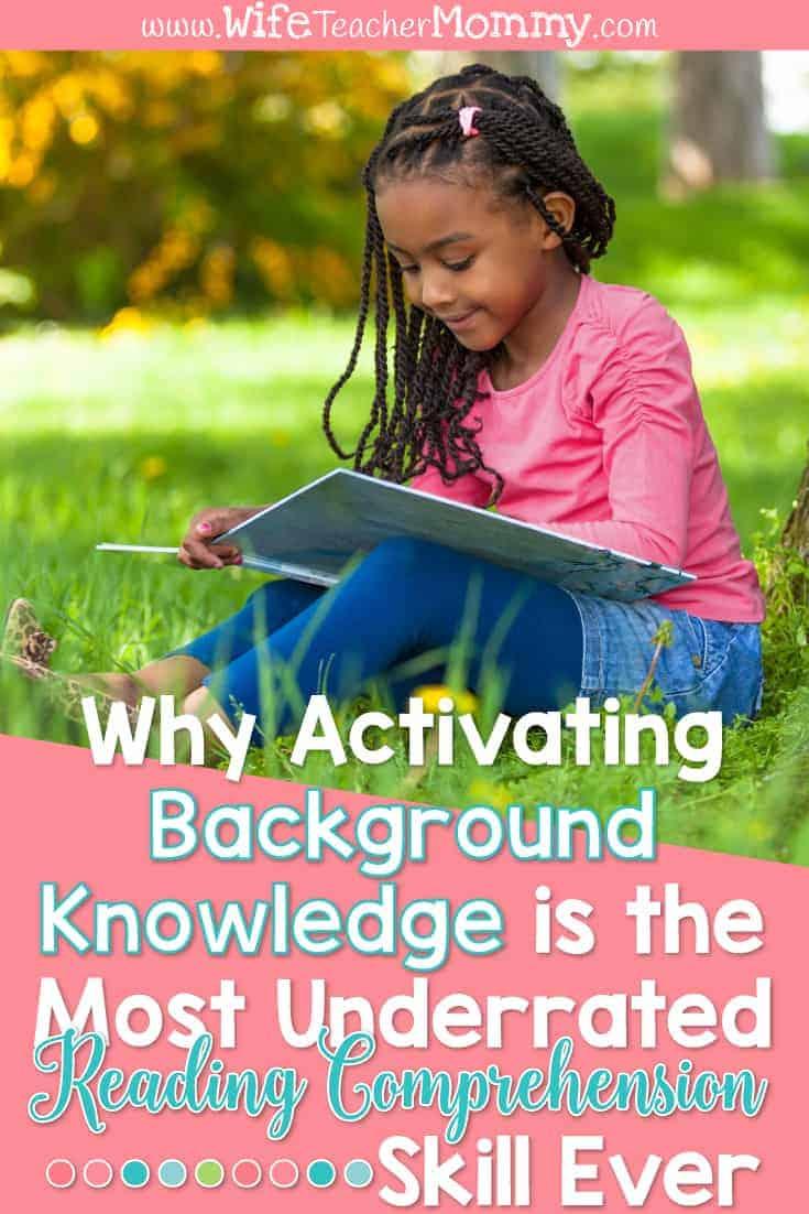 activating background knowledge, schema, essential questions blog post header