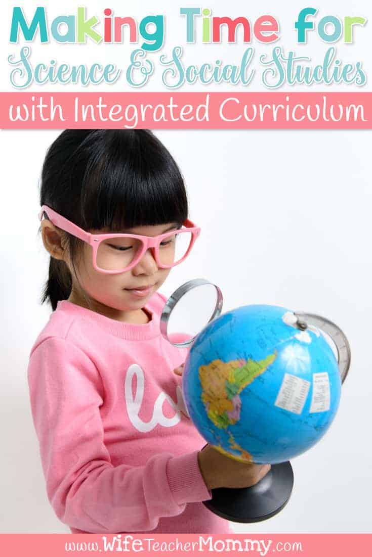 Having a hard time making time for science and social studies? You can fit science and social studies into your schedule with integrated curriculum! Learn how to use integrated instruction can help you fit it all in to your lesson planning. Learn how to create research units, thematic unit plans, and more! Science lesson plans, social studies lesson plans.