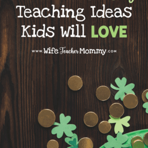 These St. Patrick's day teaching ideas include fun and engaging St. Patrick's Day teaching activities. These include lucky charms math, marshmallow activities, St. Patrick's Day crafts for kids, St. Patrick's Day day worksheets, March sub plans, March Madness teaching ideas, and more! Low prep and no prep St. Patrick's Day teaching ideas included for elementary grades. Also contains great homeschool ideas! Kindergarten, 1st grade, 2nd grade, 3rd grade, 4th grade, and 5th grade. #wifeteachermommy #teachersfollowteachers #teaching