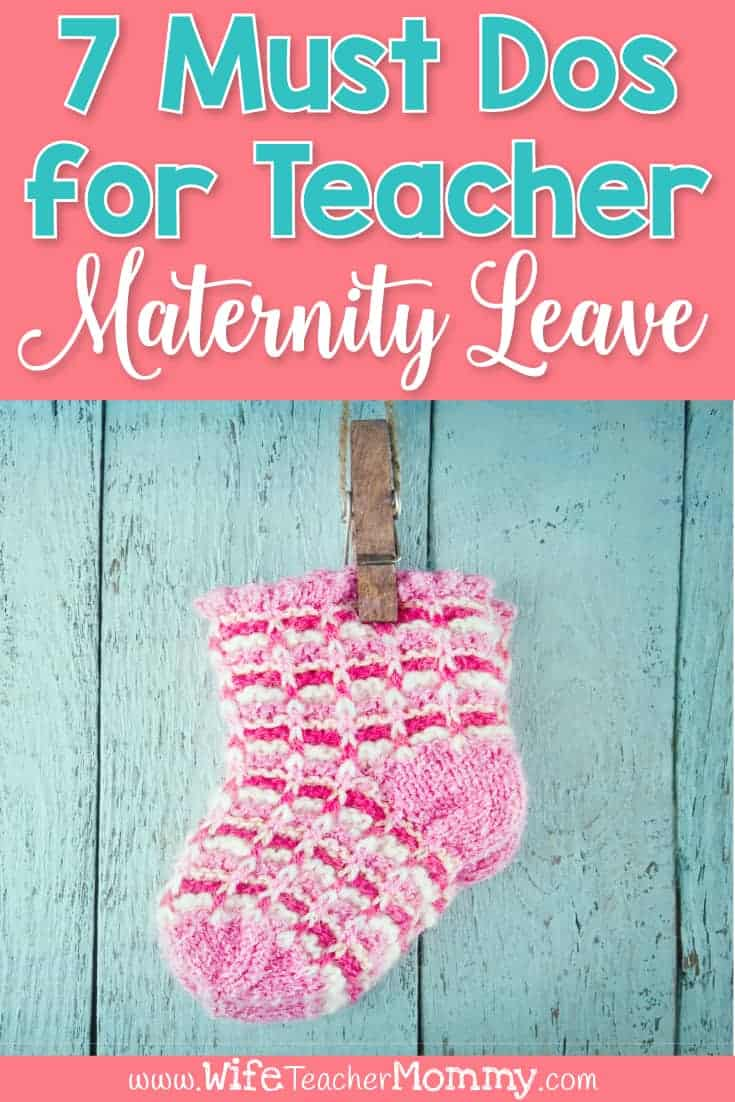 Planning a teacher maternity leave? Here are the things you must do to be prepared for your leave. Tips for your maternity binder, maternity leave sub plans, maternity leave letter to parents, transitioning your students to a long term sub, your return & more. These tips will help you rest easy during your maternity leave and enjoy your new baby. Great for all teacher mom-to-bes to read during pregnancy! Also includes a maternity leave freebie for teachers & maternity leave printable products.