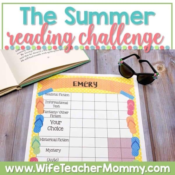This summer reading challenge is a great way to avoid the summer slide and keep kids reading during the summer.