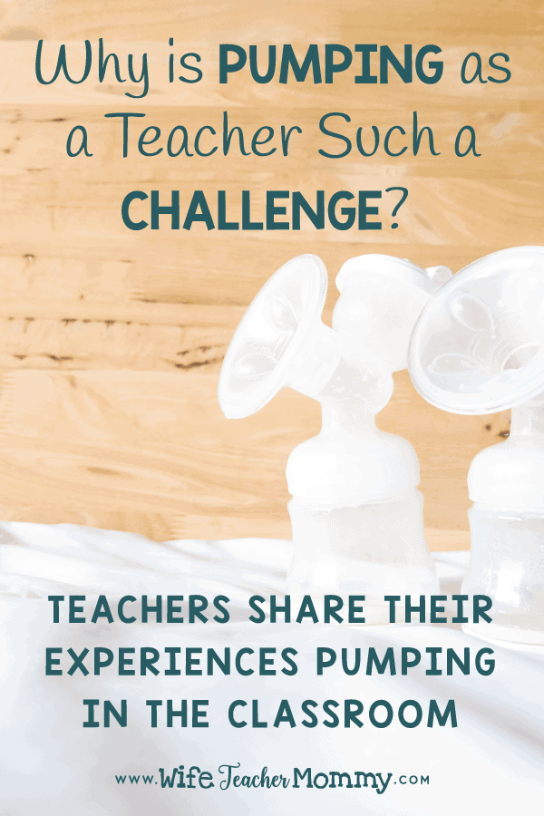 Following an article about a teacher being fired for pumping at school, teachers share their experiences with pumping in the classroom as a new mother after returning from teacher maternity leave. Teachers share their pumping teacher schedule as a breastfeeding teacher returning to school. A free pumping teacher sign will be added. A must read for teacher moms & pregnant teachers who plan on nursing their babies! Experiences teaching after baby. #teachermom #teachermaternityleave #maternityleave