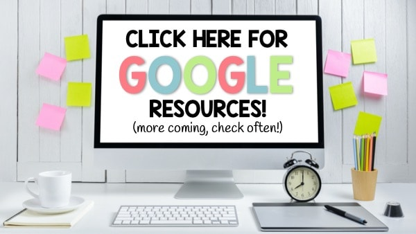 Check out all of our teaching resources for Google Slides and the digital classroom. Great for Google Classroom research units!