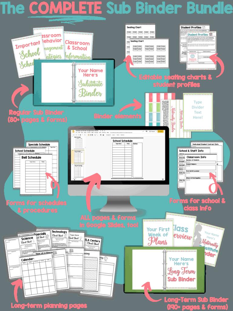 Regular Sub Binder (80+ pages & forms) (3)