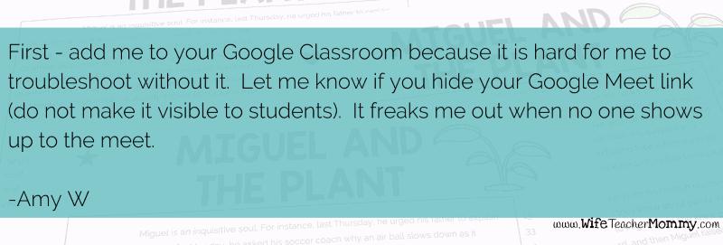 Teacher tips for a virtual substitute