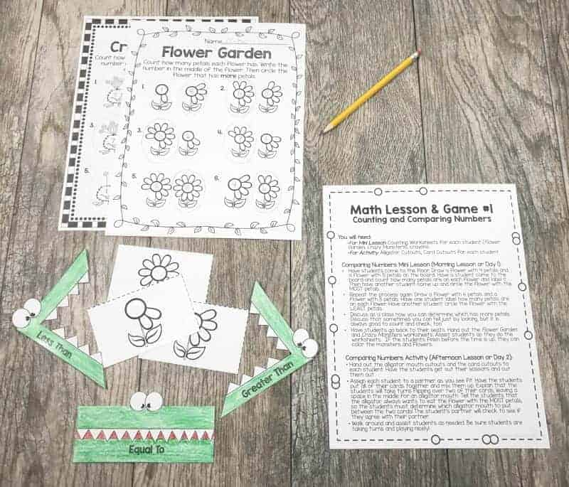 ideas and resources for special education lower grade math lessons