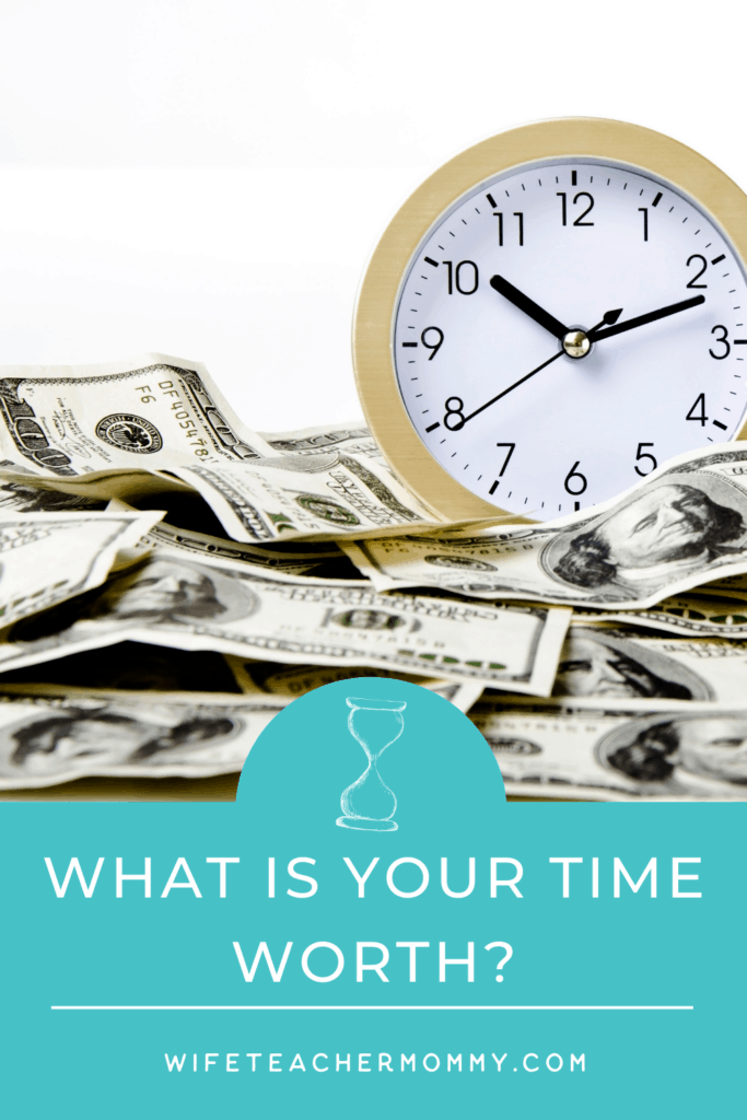 clock and money, what is your teacher time worth?